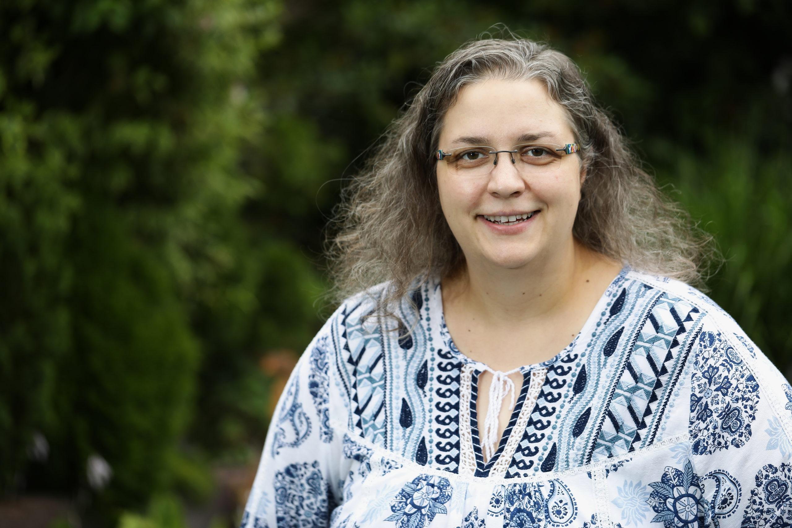 Direktkandidatin Sandra Schulze
