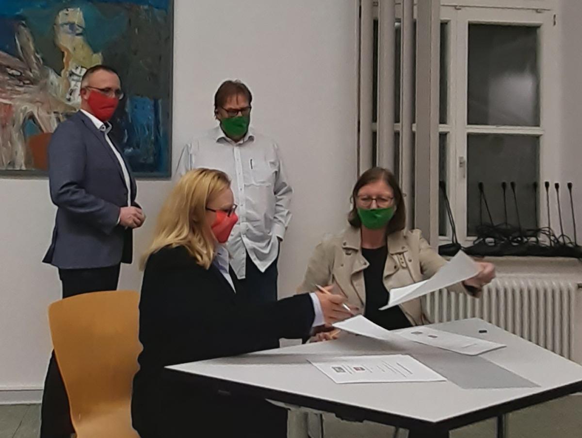 koalition-spd-grüne-vertrag-unterzeichnung-bochum-südwest