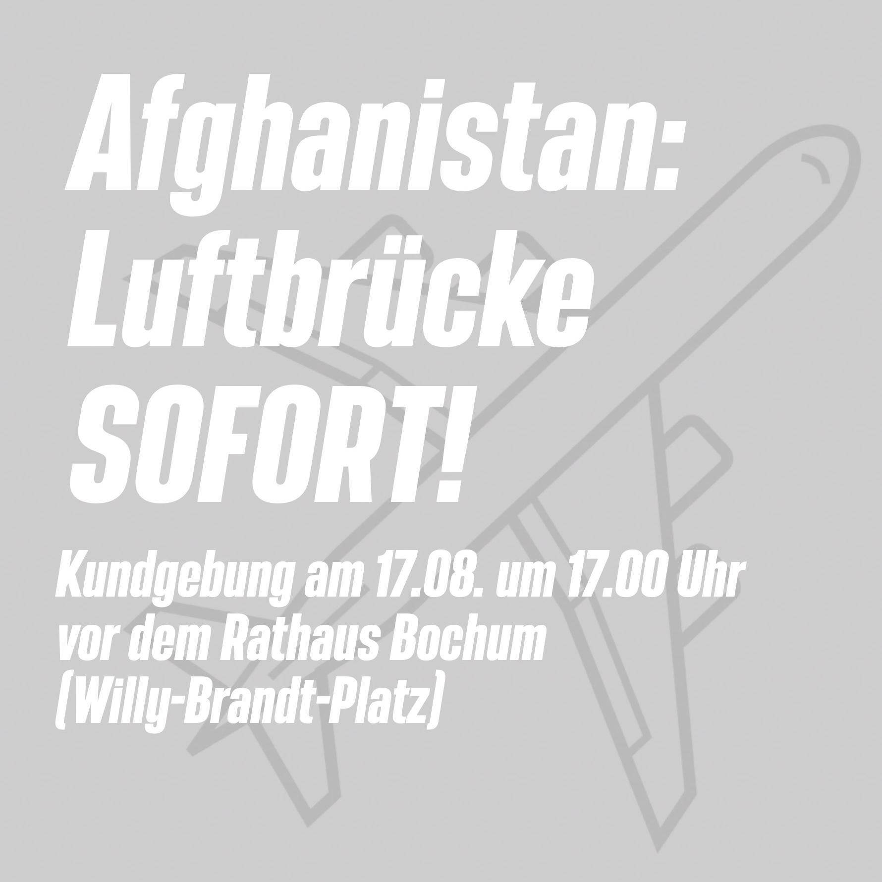 Afghanistan-luftbrücke-sofort-kundgebung-verantaltung-rathaus-bochum-grüne-fraktion